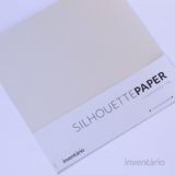SILHOUETTE PAPER LIGHT PEARL 120G